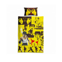 Wholesale Cheap Duvets - Wholesale- IKathoME Obama Michael Jackson Bruce Lee Kobe Anime Bedding Sets for Kids,Cheap Pillow Case 50x76CM,Single Quilt Duvet Covers