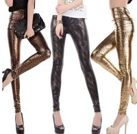 Spandex black milk snake - Free size NEW Fashion mixed style Women s Black Milk snake leopard print stripe effect high waist sexy Girl Leggings Pants