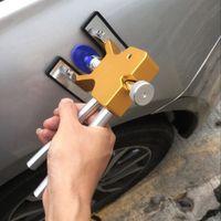 hardware-reparaturwerkzeuge großhandel-Auto Reparatur Werkzeug Handwerkzeuge Praktische Hardware Car Body Paintless Dent Lifter Reparatur Delle Puller + 18 Tabs Hagel Removal Tool Set