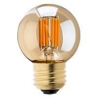 Wholesale 3w Cob Led - Vintage LED Filament Bulb,3W 2200K,Gold Tint,Edison G40 Globe Style,E26 E27 Standard Base,Retro Decorative Lamp,Dimmable