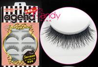 Wholesale Wispy Eyelashes Wholesale - W-017 Handmade Natural False Eyelashes Makeup Long Wispy Fake Lashes Upper Fake Eyelashes 5 pair