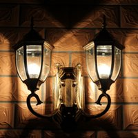 Wholesale Double Slider Outdoor - Wholesale-led wall lights modern ip65 house lamp outdoor landscape lighting wall led double slider exterior lights hexagonal