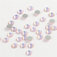 ail Art Strass Decorazioni CCBLING Crystal Opal rosa ss3-ss30 1440pcs / pack Colla su non hotfix Flatback strass perline nail art ...