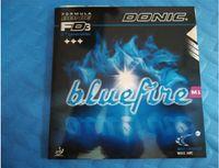kauçuk yarasalar toptan satış-Ücretsiz Kargo Donic Bluefire M1 masa tenisi kauçuk M1 masa tenisi için ping pong kauçuklar blade / kürek / yarasa
