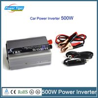 Wholesale Tbe Inverter - Wholesale- TBE 500W Power inverter DC 12V To AC 220V 500 Watt Power-inverter-220V Modified Sine Wave Power Inverter With USB Charger