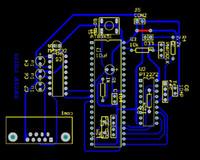 Wholesale Rf Decoder - PT2272 decoder pcb file at89x51 MAX232 PT2272 schematic and pcb file PT2272 PCB file RF