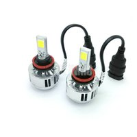 COB CREE H8 H9 H11 LED Phare Cree Chip Auto LED lampe frontale LED Automobile auto phare LED Head Lights 9005 H6 H7 h4 h1 h3