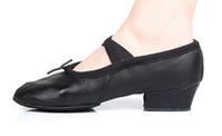 Wholesale Dance Teacher Shoes - Boys and Girls Practice Dance Shoes Teacher Teaching Dance Shoes Ballet Shoes