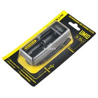 Wholesale nitecore batteries online - Authentic Nitecore UM10 UM20 Intelligent Multi Functional Battery Charger with LCD Display Original Vape Charger Fast Charging