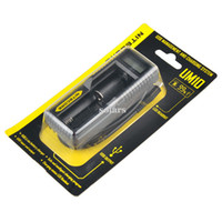 Wholesale Multi Charger Lcd - Authentic Nitecore UM10 UM20 Intelligent Multi Functional Battery Charger with LCD Display 100% Original Vape Charger Fast Charging