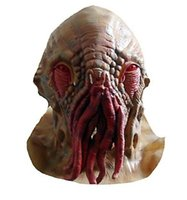 Wholesale Doctor Mask - Wholesale-Doctor who cosplay mask OM(TM) Latex Doctor who mask Creepy Ood Octopus Doctor Who Wode Star Horror Head Mask In stock