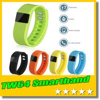 Tag Tag Band TW64 Smartband wasserdicht Smart Sport Armband Wristband Bluetooth 4.0 für IOS Iphone Android Phone