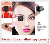 Wholesale Mini Web Cam Recorder - 1pcs The World smallest camera Mini HD Y2000 Video Camera Small Mini Pocket DV DVR Camcorder Recorder Spy Hidden Web Cam PQ150