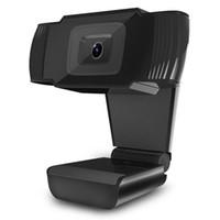 éclairage caméra pc achat en gros de-Free Drive Webcams Caméra Web HD Mini HD de haute qualité avec veilleuses pour ordinateur portable PC Enregistrement vidéo de bureau de K_Seller
