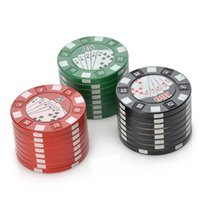Cheap 103G Wholesale Chip Herb Grinder Best red,green,black 42mm*31mm Cheap Smoking Grinder