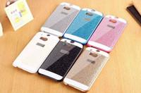 Wholesale Case Plastic Flash - For HTC ONE M8 M7 M9 for Galaxy G530 Case Fundas Luxury Slim Hard Flash Plastic Cover Diamond Bling Crystal Shinning Capa Shell