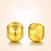 Compra Buona Fortuna-Perla in oro giallo 24K puro / pendente con perlina Lucky Good 5mm 0,4 g