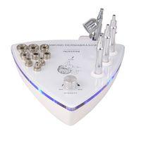 pulverizadores usados al por mayor-2 en 1 máquina de cuidado de la piel con rociador de oxígeno microdermabrasión máquina de dermabrasión de diamante uso en el hogar o uso en el salón Envío libre de DHL