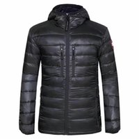 Wholesale men down jacket canada - Men's canada JACKET NEW men DOWN winter down jacket Polartec Jacket Male Sports Windproof Waterproof Breathable Outdoor COAT 200