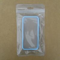 zubehör kunststoffverpackungen großhandel-Kleinverpackungsbeutel Handy iPhone Fall Plastikklare Verpackung Beutel Reißverschluss Reißverschluss Aufhängeloch Verpackungsbeutel für elektronisches Zubehör