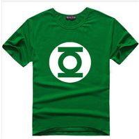 Wholesale Tshirt Big Bang Theory - Wholesale-The Big Bang Theory T-shirt Sheldon Cooper super hero green lantern the flash cosplay t shirts men women geek tee TBBT tshirt
