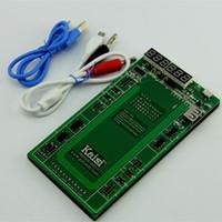 tableros de carga de la batería al por mayor-Kaisi 6-en-1 Batería descargada Junta de carga con cable micro USB para iPhone 6 Plus 6 4 4s 5 5S Placa de activación de la batería