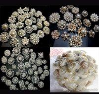 gelin kristali yapay elmas broşları toptan satış-