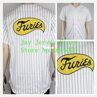 sports costumes men - 30 Teams Stitched FURIES Baseball JERSEY Sport Movie uniform The Warriors Costume