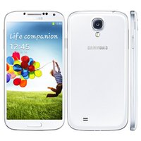 Wholesale S4 Original Smartphone - Original Refurbished Samsung Galaxy S4 I9500 I9505 Unlocked 13MP Camera 2GB+16GB Android 5.0 Quad Core Smartphone NFC 3G WCDMA GSM 002864
