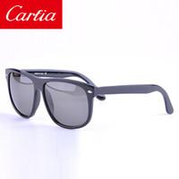 Wholesale Sunglasses Full Frame Unisex - carfia 4147 plank frame sunglasses for men women brand designer sun glasses unisex 60mm wholesale freeshipping