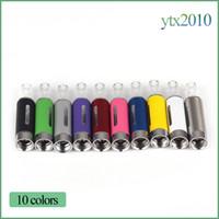 ingrosso bobina inferiore vape-MT3 Atomizzatori Sigarette elettroniche2.4ml E-sigaretta Vape Pen Bottom Coil Staccabile EVOD MT3 Serbatoio per batterie EGO EVOD E Cig DHL Libero