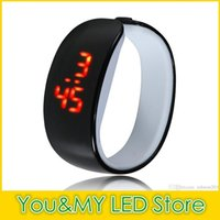 Wholesale Rubber Bracelets Shapes - 30Pcs Products recommended Anime new lady LED watch dolphin shape LED sport bracelet watch LED bracelet watch