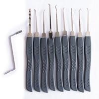 Wholesale Key Extractor Tool - 9 Pieces Advanced Lock Pick Set Door Key Opener Lock Extractor Tools GOSO Brand Free Shipping