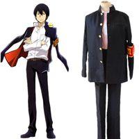 Wholesale Hibari Kyoya - Anime HITMAN REBORN! Hibari Kyoya Cosplay Costumes Uniforms (Blazer + Pants + Tie)