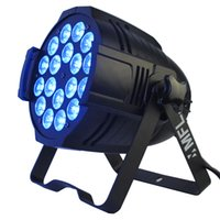 Wholesale par lights for sale - 18x18w in1 RGBW Amber UV Colorful LED Par Light DMX for Stage Lighting Party Concert Theater Night Club