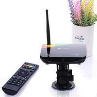 Wholesale Cs968 Android Wholesale - 5pcs Android TV Box Quad Core CS968 Smart tv 1080P HDMI XBMC 2G RAM 8G ROM RK3188 Receiver HDMI media player With remote control