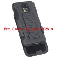 Wholesale Galaxy S4 Active Hard Case - Wholesale-Heavy Duty Rugged Armor Hybrid Holster Stand Hard Case with Belt Clip For Samsung Galaxy S3 S4 S5 Mini Active  S6 S6 Edge