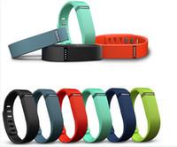 ingrosso wristband di sonno di attività senza fili del flex di fitbit-Hot Fitbit Flex Wristband Wireless Activity Sleep Sport fitness Tracker smartband per IOS Android braccialetto smartwatch DHL gratuito