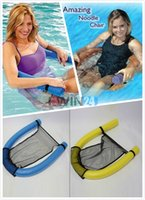 Wholesale Swimming Pools Inflatables - Amazing Noodle Chair Chair Lounger Water Swimming Pool Inflatable Float Floating New and Hot Selling Free Shipping