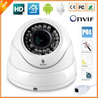 Wholesale Manual Zoom Camera - 720P 960P 1080P Vandal-Proof IP Camera PoE Vari-Focal Lens 2.8MM-12MM 3X Manual Zoom Security Camera PoE 1.0MP 1.3MP 2MP IP CCTV