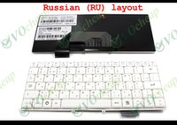 Wholesale Genuine New Notebook Laptop keyboard FOR Lenovo S9 S10 S9E S10E White Russian RU Version T4146