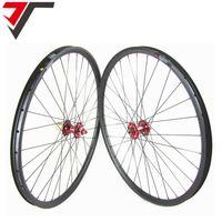 Wholesale Cheap 29er Mountain Bikes - TRIPS cheap 29'' carbon wheels tubeless 29inch Mountain Bike Wheelset Hookless Carbon 29er Wheel 27mm width XC Carbon MTB Wheels