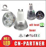 bombilla led e14 cree 5w al por mayor-0% Daño Lámpara LED CREE de alta potencia 3W 4W 5W 6W 8W 10W 12W Regulable GU10 MR16 E27 E14 GU5.3 B22 Foco de luz LED bombillas led lámparas de downlight