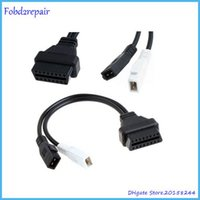 Wholesale 2x2 Obd2 Adapter - Fobd2repair 2x2 2+2Pin to 16Pin OBDII OBD2 Diagnostic Adapter Connector Cable for Audi, for audi OBD I to OBD II connector Store: 20158244