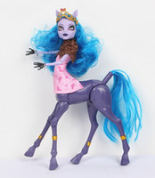 Wholesale Toy Dolls For Boys - Wholesale-Monster Toys Dolls   High Quality Toy Gift for girls   Freaky Fusion Avia Trotte brinquedos doll american girl doll