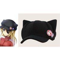 Wholesale Cat Hat Plush - Wholesale-Spot Movie Evangelion EVA Asuka cat ears plush Toy Hat