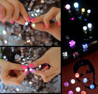 Wholesale Christmas Flash Movie - Light Up LED earrings Studs Earring Flashing Stainless Steel Earrings Stud Dance Party Earrings for Men Women Zircon Earring Gifts SL