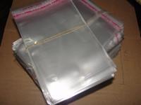 sacos do bracelete do opp venda por atacado-Venda direta da fábrica baixo preço Saco de adesivo transparente sacos De Plástico pulseira sacos Transparente saco de opp Saco da jóia 8x12 cm 500 pçs / lote