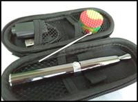 Wholesale Jewel Pens Wholesale - jewel wax vape pen vaporizer e cigarette skillet v6 puffco concentrate wax smoking pen kit ceramic rod coil quartz oil heating coil set