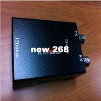 Wholesale rj45 standard resale online - 4pcs G Balun BNC COAX Ohm to RJ RJ45 Ohm Ethernet Network Adapter Converter